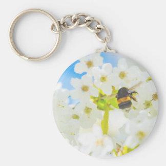 Bee in the Garden Keychain