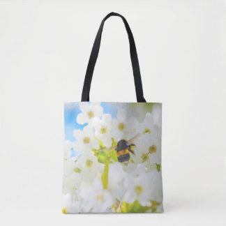 Bee in the Garden Tote Bag