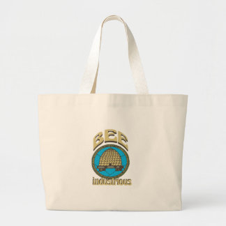 Bee Industrious Large Tote Bag