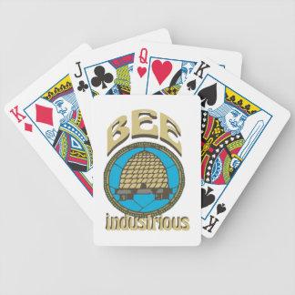 Bee Industrious Poker Deck