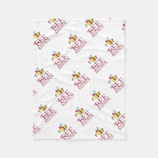 Bee Keeper Christmas Edition Fleece Blanket