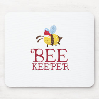 Bee Keeper Christmas Edition Mouse Pad