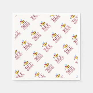 Bee Keeper Christmas Edition Paper Napkin