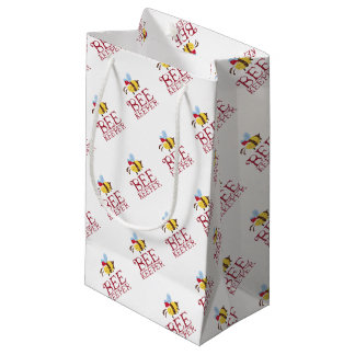 Bee Keeper Christmas Edition Small Gift Bag