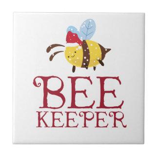 Bee Keeper Christmas Edition Tile