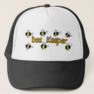 bee keeper trucker hat