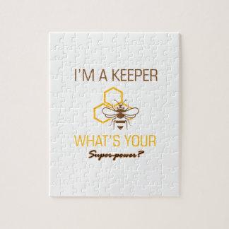 Bee Keeper tshirts Jigsaw Puzzle