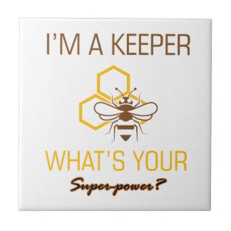 Bee Keeper tshirts Tile