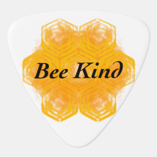 Bee Kind Guitar Pick