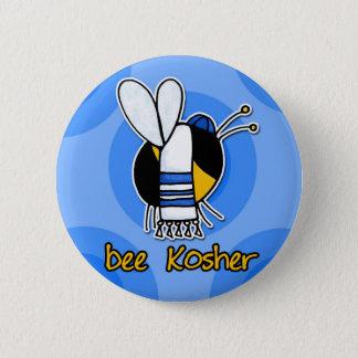 bee kosher 2 inch round button