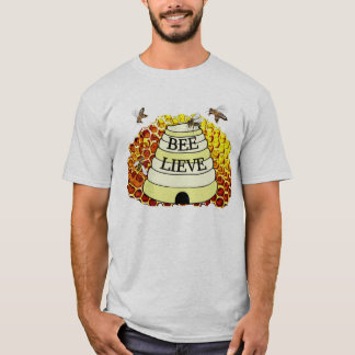 Bee-Lieve Bees and Honeycomb Shirt