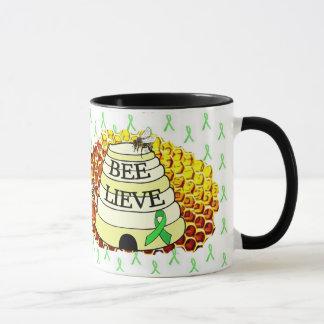 Bee- Lieve Lyme Disease Awareness Coffee Cup
