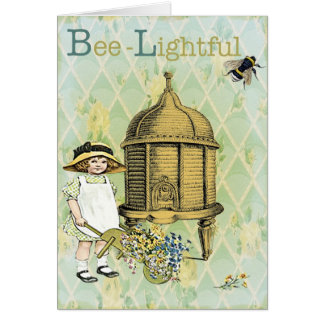 Bee lightful card