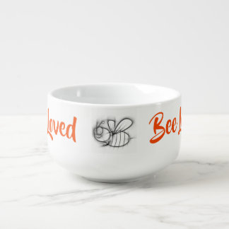 Bee Loved Soup Mug