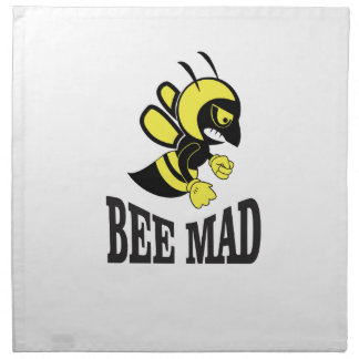 bee mad bee napkin