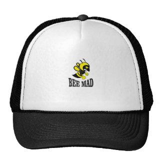bee mad bee trucker hat