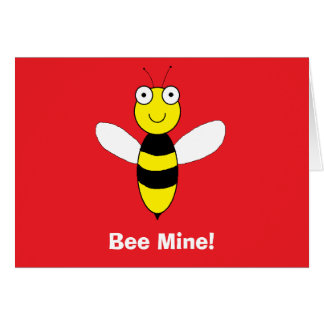 """Bee Mine!"" Card"