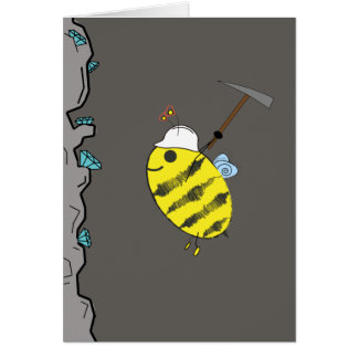 """Bee Mine?"" clever Valentine's day card"