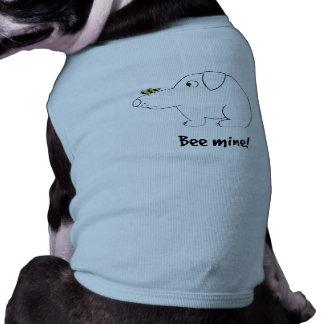 Bee mine! dog t-shirt