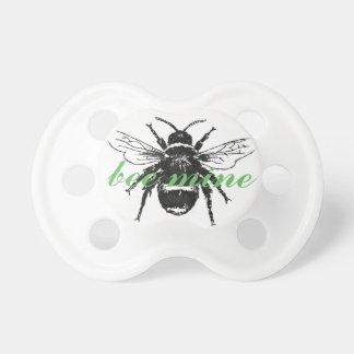 Bee mine pacifier