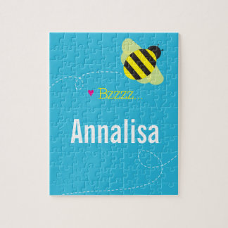Bee Mine (Personalized) Puzzle with Gift Box