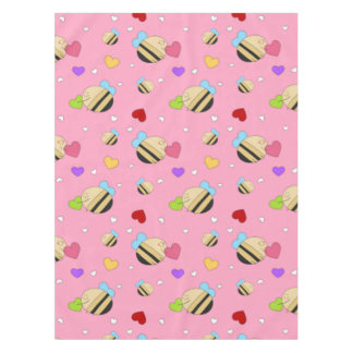 Bee Mine Valentine Tablecloth