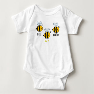Bee My Baby T Baby Bodysuit