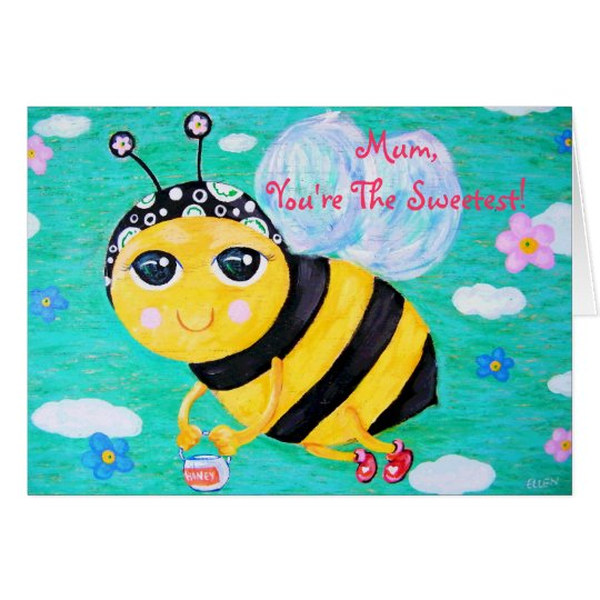 Bee My Honey Mother's Day Card