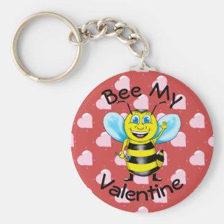 Bee My Valentine Keychain