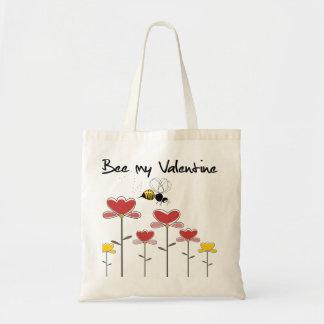 Bee my Valentine Sac En Toile Budget