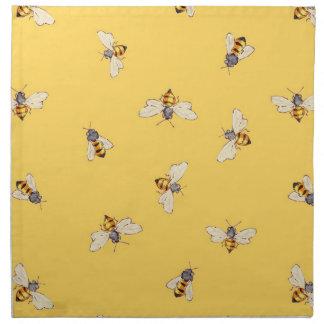 Bee Napkins - Sunny Yellow