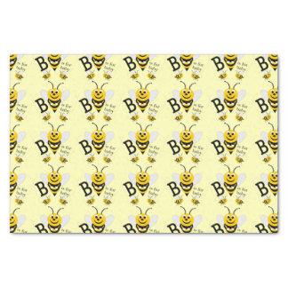 Bee Neutral Baby Shower Tissue Paper