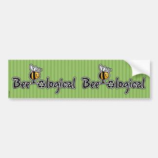 bee-ological scrapbooking sticker bumper sticker