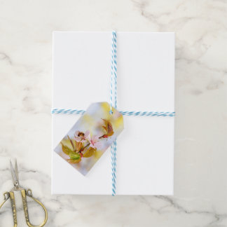 Bee On A Cherry Flower Gift Tags