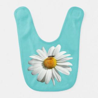 Bee on Daisy Customizable Color Bib