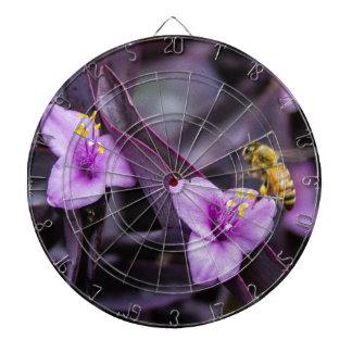 Bee on Flower Dartboard
