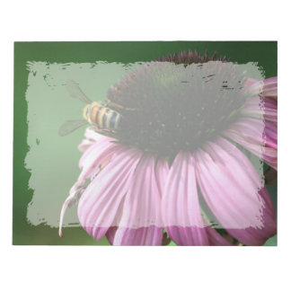Bee on Flower Notepad