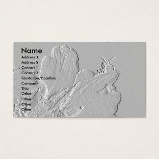 Bee on Flower Petals Design Business Card