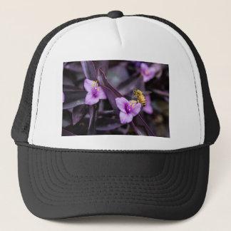 Bee on Flower Trucker Hat