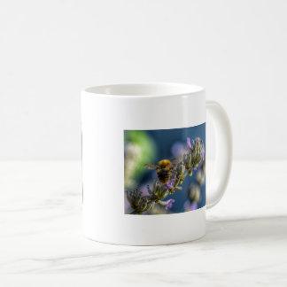 Bee on Lavender Coffee Mug