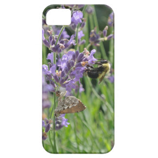 Bee on Lavender iPhone 5 Cover