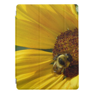 Bee on Sunflower iPad Pro Cover