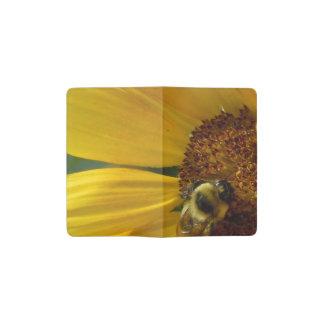 Bee on Sunflower Pocket Moleskine Notebook