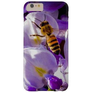 Bee on Wisteria iphone case