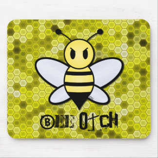 Bee Otch Mouse Pad