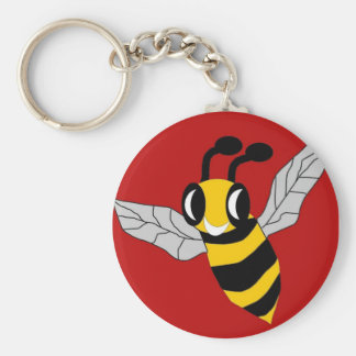 Bee Rescued Keychain
