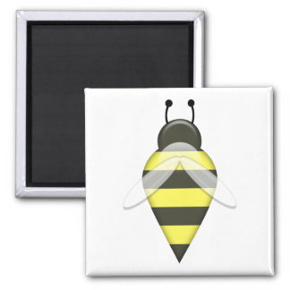Bee Series 1 Square Magnet