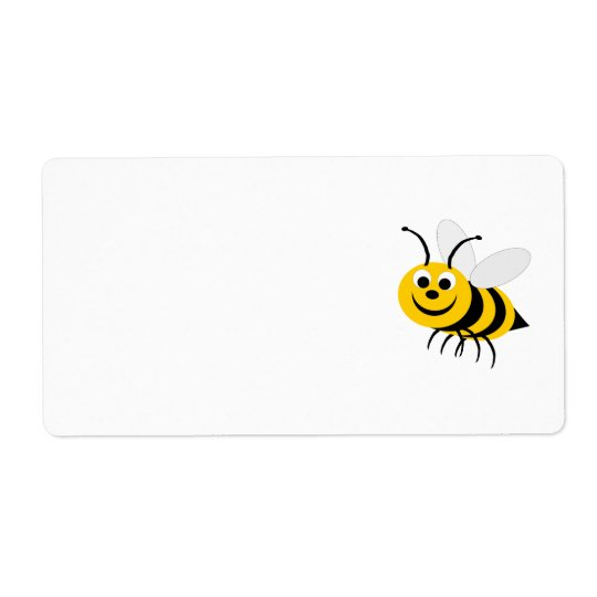 Bee Shipping Label