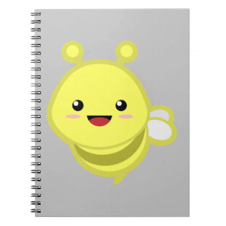 Bee Spiral Note Books