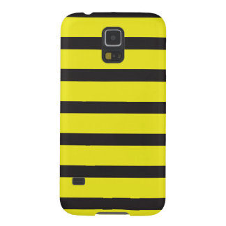 BEE stripes black Galaxy S5 Cover